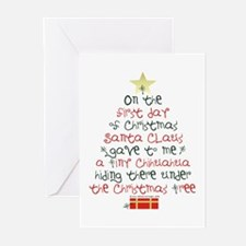 Chihuahua Christmas Gift Greeting Cards (Pk of 10)