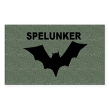Spelunker Rectangle Decal