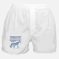 Unicorns Support Congenital Diaphragm Boxer Shorts
