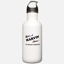 MARVIN thing, you woul Water Bottle