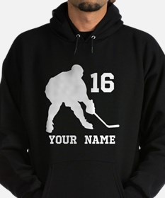 Personalized Ice Hockey Gift Hoodie