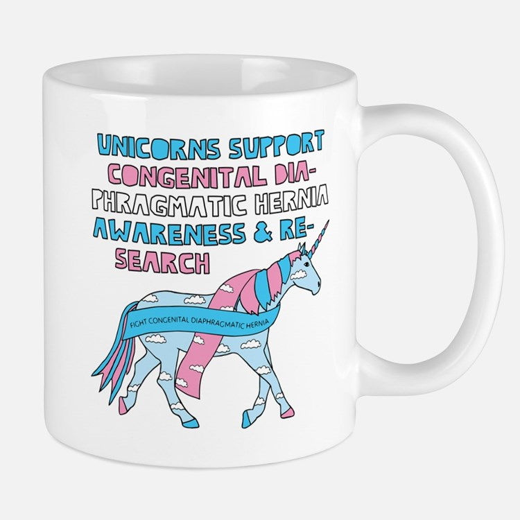 Unicorns Support Congenital Diaphragmatic Her Mugs