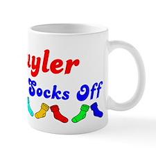 Schuyler Rocks Socks (B) Small Mug