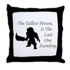 Wow Gnome Throw Pillow
