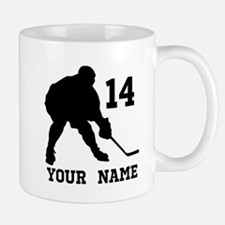 Custom Hockey Player Gift Mugs