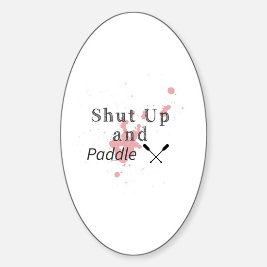Unique Up Sticker (Oval)