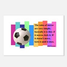 Soccer Quote Postcards (Package of 8)
