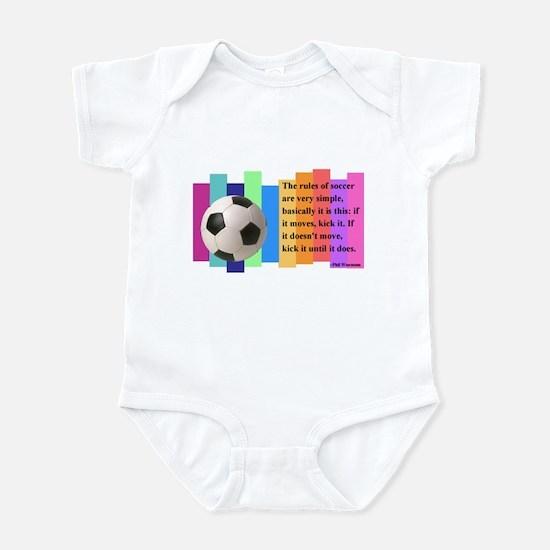 Soccer Quote Infant Bodysuit