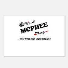 MCPHEE thing, you wouldn' Postcards (Package of 8)