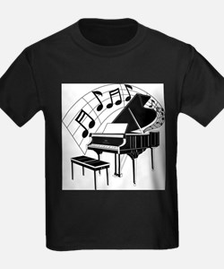 Grand Piano Notes T-Shirt