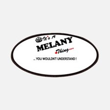 MELANY thing, you wouldn't understand Patch