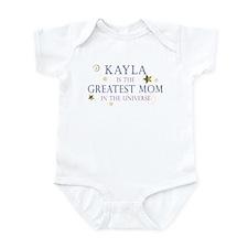 Kayla is the Greatest Mom Infant Bodysuit