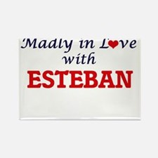 Madly in love with Esteban Magnets