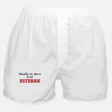 Madly in love with Esteban Boxer Shorts