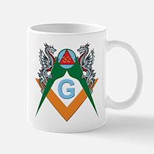 Masons 32nd Degree with Dragons Mug
