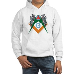 Masons 32nd Degree with Dragons Hoodie