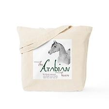 The Classic Arabian Horse Tote Bag