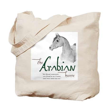 The Classic Arabian Horse Tote Bag
