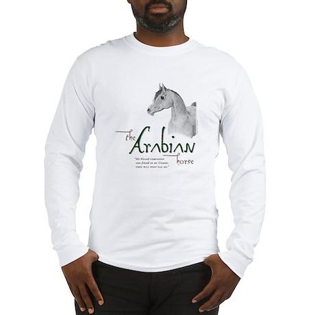 The Classic Arabian Horse Long Sleeve T-Shirt
