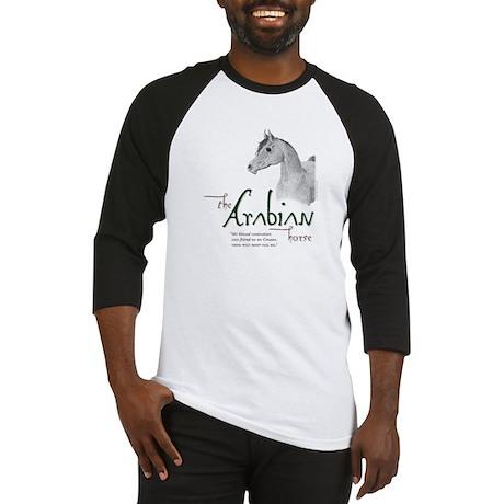 The Classic Arabian Horse Baseball Jersey