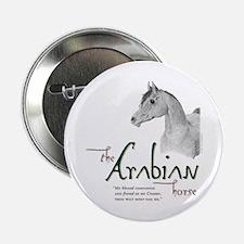 "The Classic Arabian Horse 2.25"" Button"