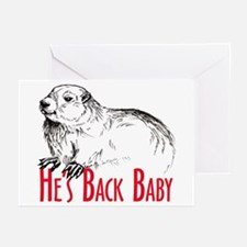 He's Back baby! Greeting Cards (Pk of 10)