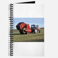 Tractor Making Hay Journal