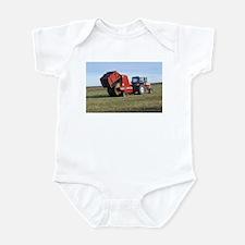 Tractor Making Hay Infant Bodysuit