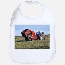 Tractor Making Hay Bib