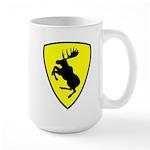 Prancing Moose Mug Large, 3 inch moose