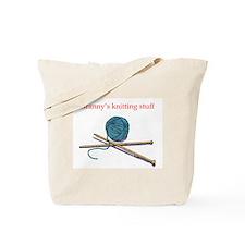 Granny's Knitting Tote Bag
