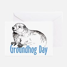 Groundhog Day Greeting Cards (Pk of 10)