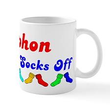 Stephon Rocks Socks (B) Coffee Mug