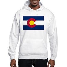 """""""Colorado State Flag"""" Hoodie Sweatshirt"""