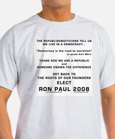 RON PAUL BACK TO THE ROOTS T-Shirt