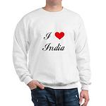 I Love India Sweatshirt
