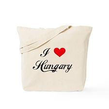 I Love Hungary Tote Bag