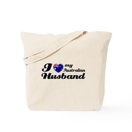I love my Australian husband Tote Bag