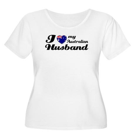 I love my Australian husband Women's Plus Size Sco