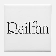 Railfan Tile Coaster