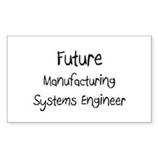 Future Manufacturing Systems Engineer Decal