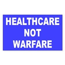 HEALTHCARE Rectangle Decal