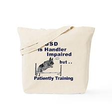 GSD Agility Tote Bag
