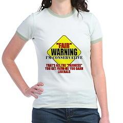 Fair Warning Conservative T