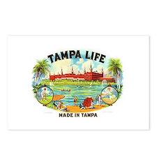 Tampa Life Vintage Cigar Ad Postcards (Package of