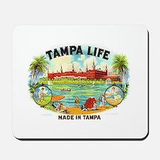 Tampa Life Vintage Cigar Ad Mousepad