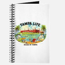 Tampa Life Vintage Cigar Ad Journal