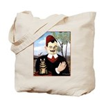 MAN & CAT Tote Bag