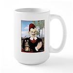 MAN & CAT Large Mug