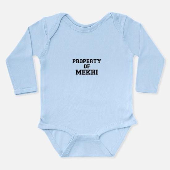 Property of MEKHI Body Suit